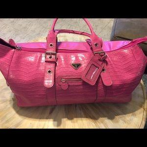 Pink Prada Travel Bag